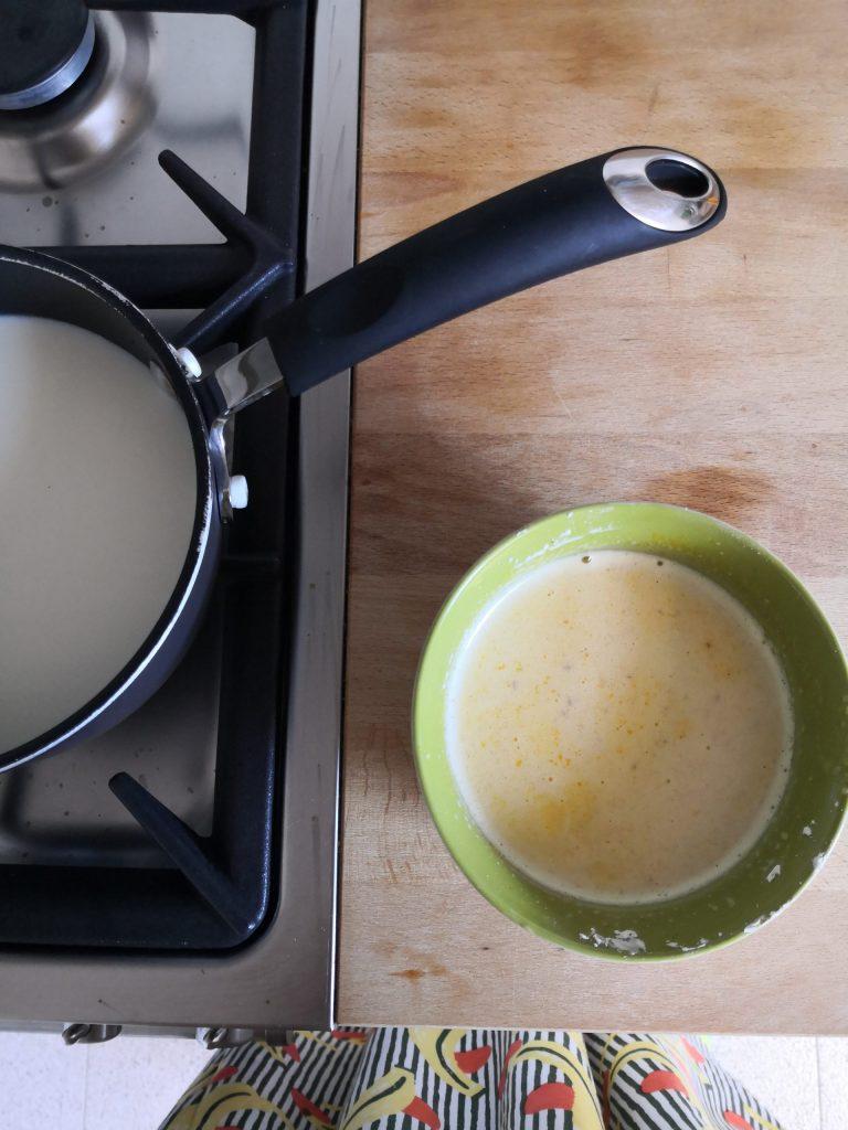 ricetta crostata crema e fragole